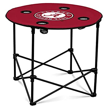 Logo Brands NCAA Alabama Crimson Tide Round Table One Size Team Color