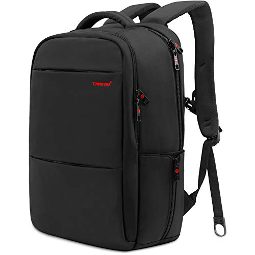 Norsens Anti-Diebstahl 18.4in Notebook Rucksack Schwarz Business Computer Rucksack Damen Fits up to 17.3in Laptop Rucksack
