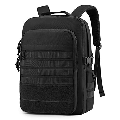 WindTook Laptop Backpack for Women and Men Molle Travel Computer Bag School College Daypack Suits 15.6 Inch Notebook