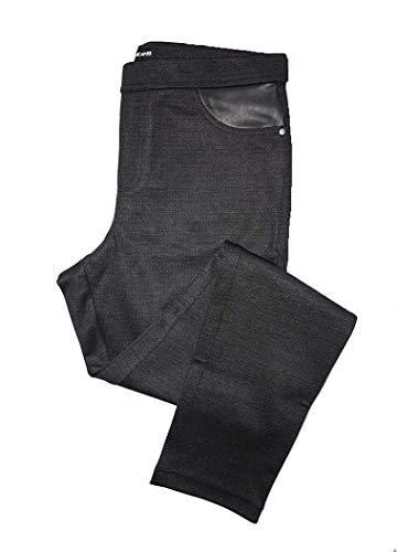DKNY Pull On Ponte Pant (CHA Charcoal, XL)