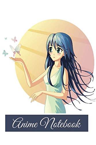 Anime Notebook: Girl Anime Notebook Journal-Back To School Notebook Journal-Anime Blank Lined Notebook