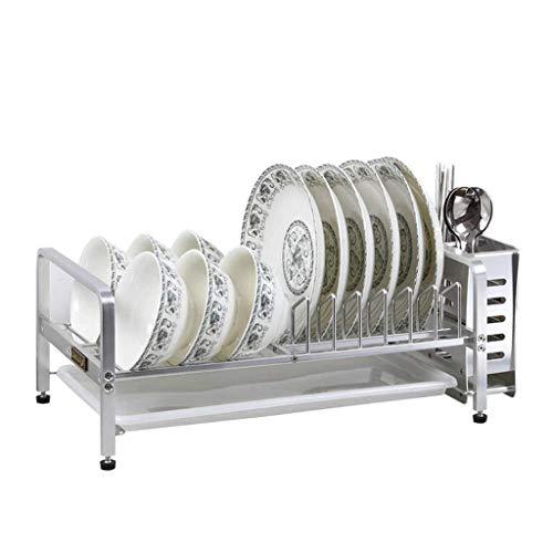 Rejilla de desagüe para lavavajillas Profesional y Bandeja de plástico extraíble para Cubiertos Rejilla para Platos Rejilla para secar Platos de Cocina Rejilla para Platos Rejilla de Almacenamiento