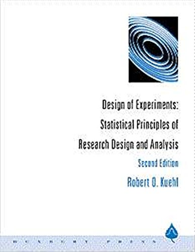 Design of Experiments: Statistical Principles of Research...
