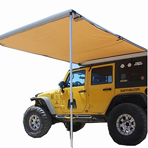 Suvミニバングレーのための防水自動キャノピーキャンピングカーのトレーラーテントの屋根の上