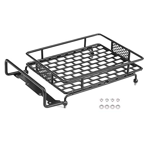 SNOWINSPRING Luggage Tray Roof Rack Upgrade Accessory Parts for CC01/CR01/D90/SCX10 1/8 1/10 RC Crawler Climbing Car