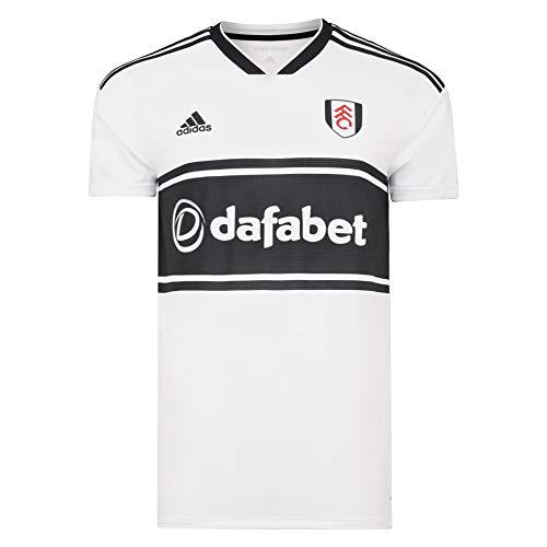 Fulham Football Club 18/19 Heimtrikot für Erwachsene, CF3231 S weiß / schwarz