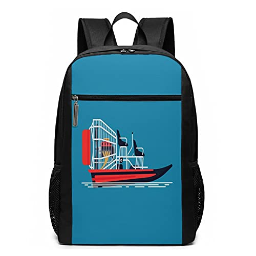 OMNVEQ Mochila Escolares Barco de Agua fría, Mochila Tipo Casual para Niñas Niños Hombre Mujer Mochila para Ordenador Portátil Viaje