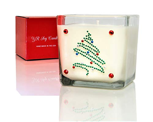 Pine Scented Christmas Candle - YR Soy Candles - 10oz.