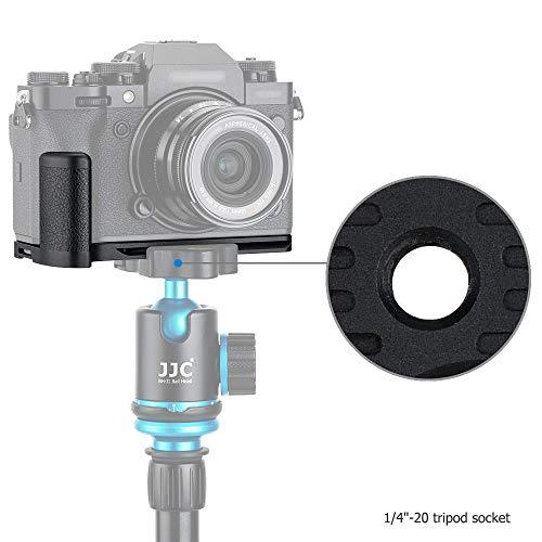 Handgriff Kameragriff Metall L-Platte Schnellwechselhalterung für Fujifilm Fuji X-T4