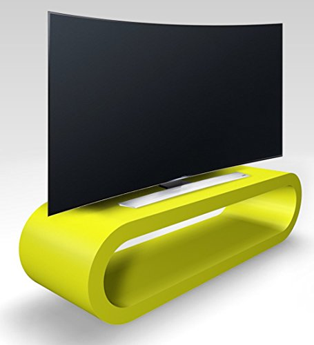 Zespoke Cerceau de Style Rétro Grande Chaux Vert Mat Meuble TV/Armoire 110cm