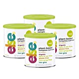 (4-Pack) Else Plant-Based Complete Nutrition Formula for Toddlers 12 mo.+, 22 Oz., Dairy-Free, Soy-Free, Corn-Syrup Free, Gluten-Free, Non-GMO, All Natural, Vitamins and Minerals for, Vegan, Organic
