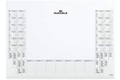 Durable 729202 Kalenderblock, 570 x 410 mm, weiß