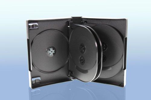 DVD Hülle / 10fach 10er DVD Box/Farbe: schwarz