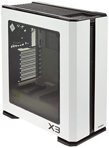 Zalman X3 White Mid Tower Case (ATX/M-ITX/M-ATX)