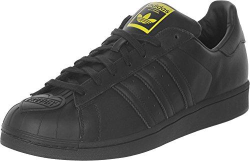 adidas Superstar Pharrell CORE Black/Yellow
