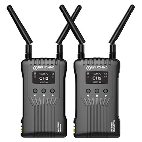 Hollyland MARS 400S SDI/HDMI Wireless Video Transmission System, Includes Transmitter and Receiver