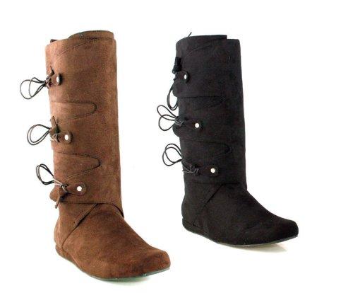 Ellie Shoes Men's 1' Heel Boot M BLK