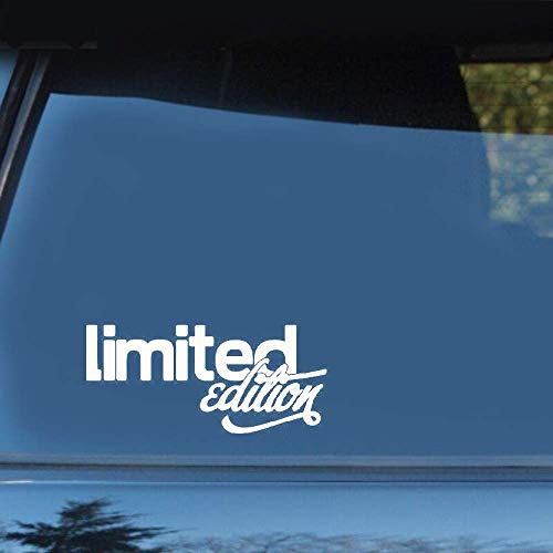 Limited Edition Funny Car Styling autoraamsticker, plakker voor auto, laptop, venster, sticker, plakfolie