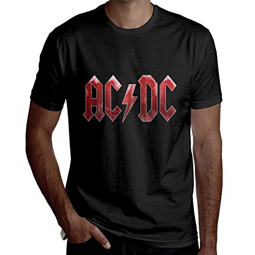 Funny Novelty AC-DC heren korte mouw T-shirt Tee Birthday Christmas Or Gift for Commemoration Day