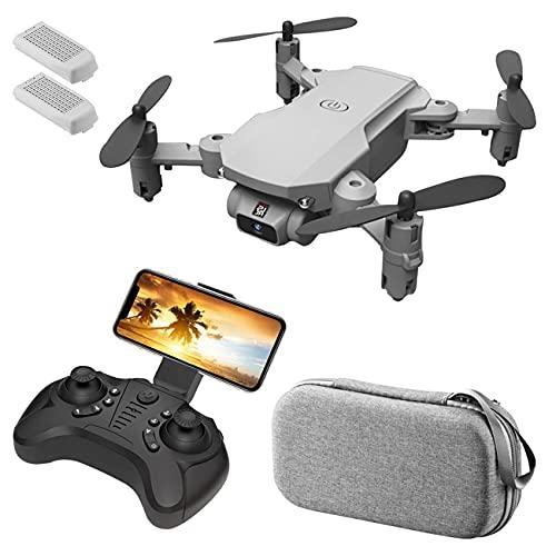Drone, Drone Pieghevole con Fotocamera per Adulti 4K HD FPV Live Video, Controllo dei gesti, Selfie, Mantenimento dell'altitudine, modalità Senza Testa, capovolgimenti 3D, quadricottero per Bambini
