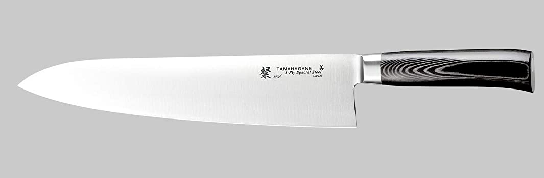 Tamahagane Tsubame Mikarta Stainless Steel Chef's Knife, 10.5-Inch