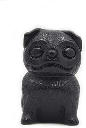 YISYIS Chinese Zodiac Feng Shui Long-awaited Obsidian Milwaukee Mall Stat Animal Dog Natural