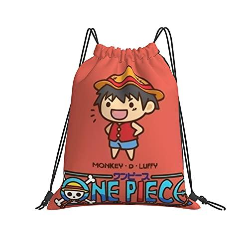Luminous Japa-N-E-Se Anime Beach Party Mochila de viaje al aire libre, deportes, senderismo, escalada, correr, natación, ropa de fútbol, bolsas de regalo para niñas y niños