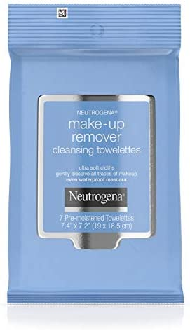 Neutrogena Makeup Remover Cleansing Towelettes Daily Face Wipes to Remove Dirt Oil Makeup Waterproof product image