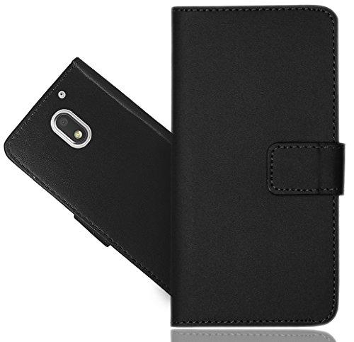 Motorola Moto E3 Handy Tasche, FoneExpert® Wallet Hülle Flip Cover Hüllen Etui Hülle Ledertasche Lederhülle Schutzhülle Für Motorola Moto E3 (3rd Gen 2016)