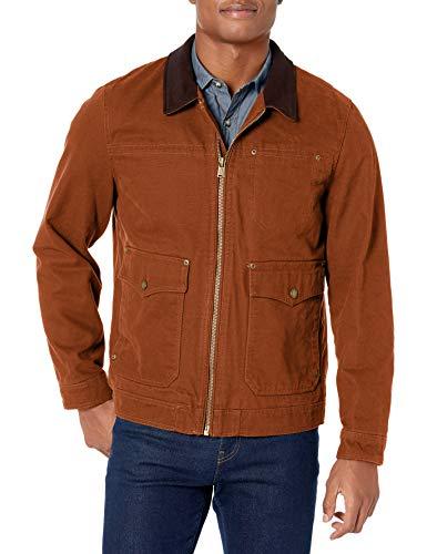 Pendleton Outerwear Virginia City Big Sky Herren-Trucker-Jacke aus Segeltuch mit DWR-Finish, Whiskey, Größe L