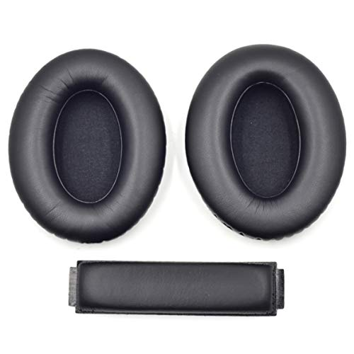 1 Set Earpads Headband Replacement Protein Earpads Cushions for Sennheiser HD418, HD419, HD428, HD429, HD439, HD438, HD448, HD449 Headphone Ear Pad/Ear Cushion/Ear Cups/Ear Cover/Earpads R