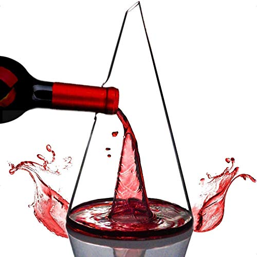 N\A Decantador de Vino de la Corona Libre de Plomo, Torre de Cristal Torre de Vino Tinto Jarrafa, Regalo de Vino, Accesorios de Vino, Decantador Regalos de Vino Crystal
