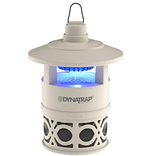 DynaTrap DT160-DEC2 Outdoor/Indoor Insect Trap with UV Light Mosquito Repellent, 1/4 Acre, Stone