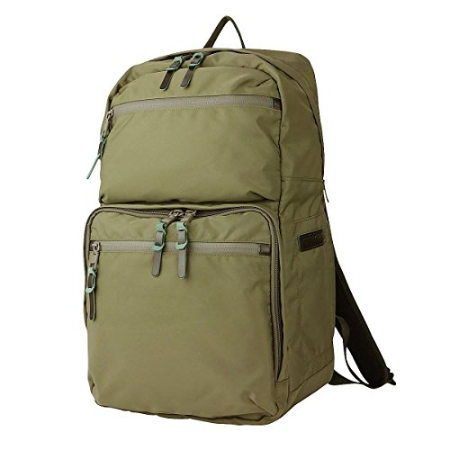AS2OV(アッソブ) SMOOTH NYLON SQUARE BACK PACK バックパック 121600 (カーキ)