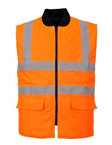 Portwest S469 veiligheidsvest met goede zichtbaarheid, XXXXXL, oranje