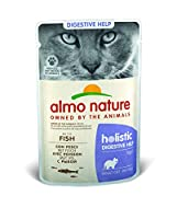 Almo Nature Holistic Digestive Help is a line of wet food for cats contains prebiotics and minerals, which promote intestinal health and contribute to the formation of a protective layer for the intestinal wall. Free from chemical additives, colourin...
