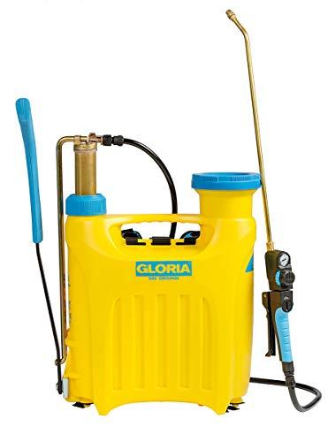 GLORIA Rückenspritze Pro 1300, 6 bar, 13L, Profi-Tragesystem und 0,5m Messing-Verlängerung