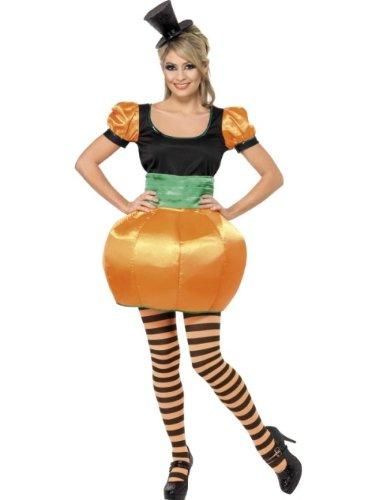 Smiffys Costume citrouille, avec haut, jupe et ceinture smoking