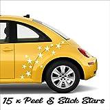 Stars Set Stickers Kit Car Wall Vw Saxo Mini Beetle Ds3 Camper Decal Vinyl