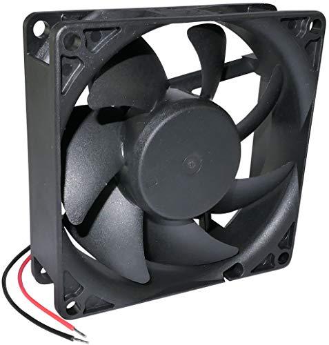 AERZETIX - Ventilador Axial de Refrigeración - para Caja de Ordenador PC - Vapo - Termoplástico - 24V DC - 80x80x25mm - 56.06m3/h - 2600rpm - 0.04A - 0.96W - 28dBA - C46965