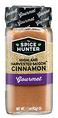The Spice Hunter Highland Harvested Saigon Cinnamon, 1.5 oz. jar