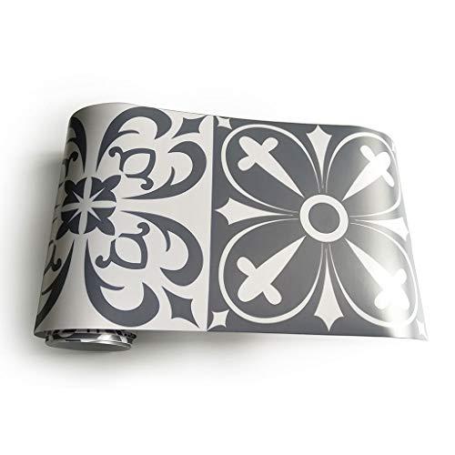 Manyo - 1 rollo adhesivo de azulejos para escaleras, azulejos 3D - Exótico decoración # 3, decoración de pared, contremarca, escalera, adhesivo de PVC, 20 x 500 cm