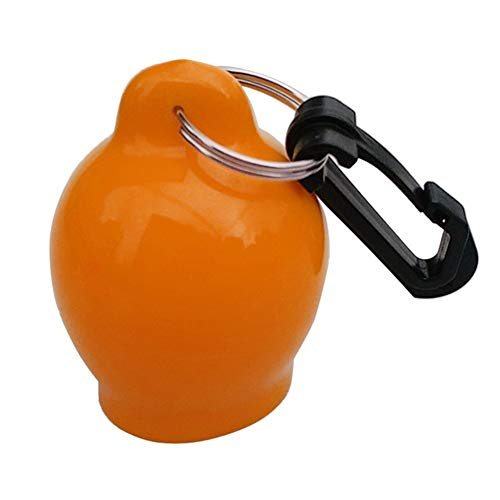 HDHUIXS Sumiso Boquilla de Buceo Cubierta bucear Pedazo de Boca de la Bola con el Clip Buceo con escafandra Octopus Holder Boquilla Cubierta Fresco (Color : Orange 7.2x5.8cm)