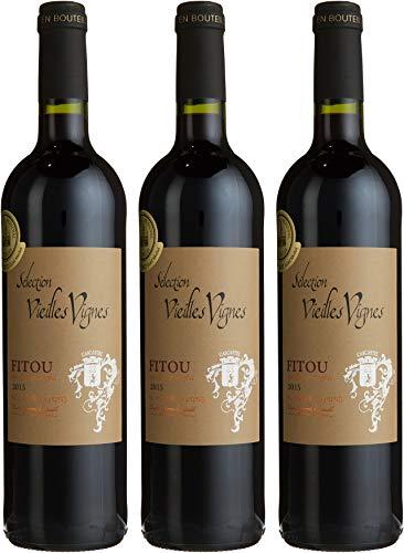 Vignerons de Cascastel Fitou Sélection Vieilles Vignes, Carignan 2013/2015 Trocken (3 x 0.75 l)