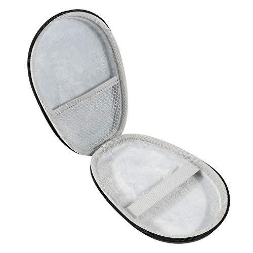 Andylies Estuche de Transporte Bolsa de Almacenamiento de Viaje Protector Auriculares Funda Estuche RíGido para Auriculares para Beats X Negro + Blanco