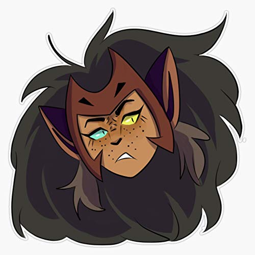 """Leyland Designs Catra Sticker Outdoor Rated Vinyl Sticker Decal for Windows, Bumpers, Laptops or Crafts 5"""""""