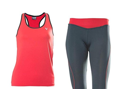 FREDDY wrs2ads5tt – Ensemble pour Femme XL Grey/Red