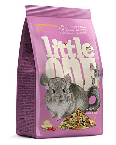 Little One Alleinfutter für Chinchillas im Beutel, 4er Pack (4 x 900 g)