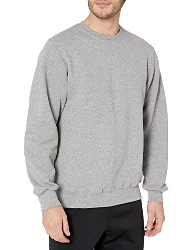 Russell Athletic Herren Dri-Power Fleece Sweatshirt - grau - X-Groß