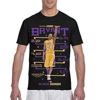 Men s T-Shirt Rip Forever Lengend MVP 24 and 8 Fashion Short Sleeve 6-S